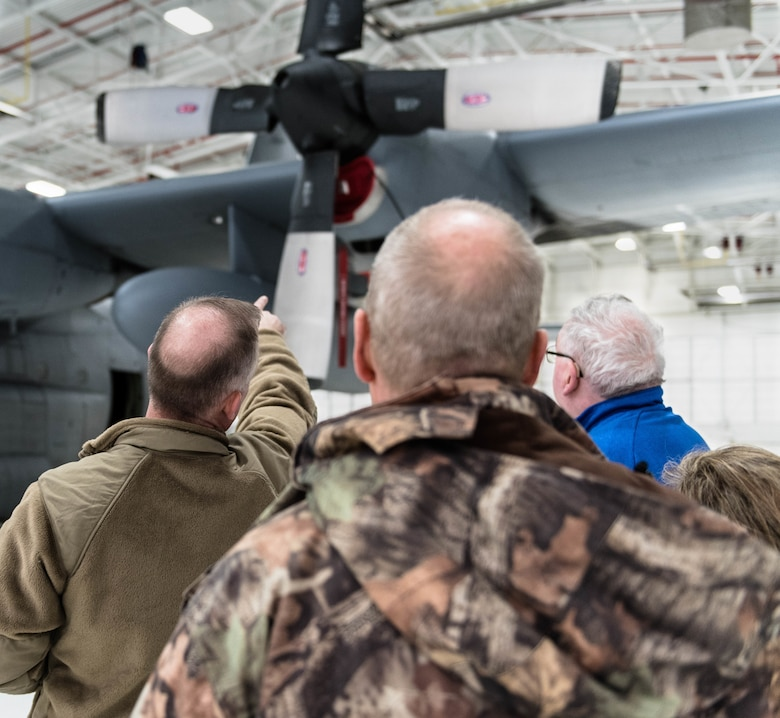 Members of the Youngstown Air Reserve Base Community Council executive board toured Youngstown Air Reserve Station, getting an insider's perspective on the training in which Reserve Citizen Airmen participate during Unit Training Assemblies here, March 10, 2019.