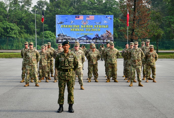 Exercise Keris Strike Begins in Malaysia