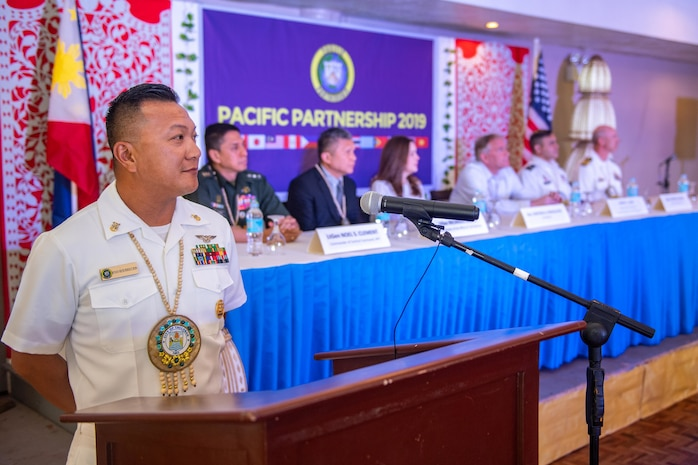 Pacific Partnership Mission Kicks Off in Philippines