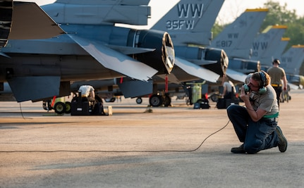 The U.S,  Thailand, and Singapore Launch 25th COPE Tiger Exercise