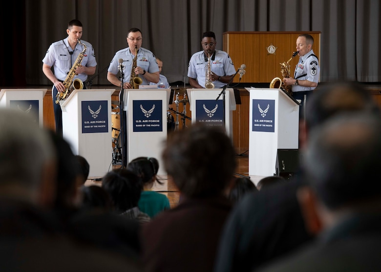 PACAF Band spreads joy of music