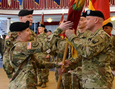Stilwell Battalion bids farewell to one leader and welcomes another