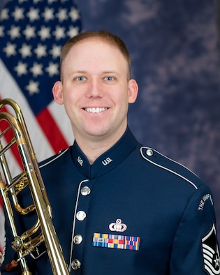 Master Sgt. William Timmons is a trombonist with the Ceremonial Brass, The United States Air Force Band, Joint Base Anacostia-Bolling, Washington, D.C. A native of Sumter, South Carolina, he began his career in the Air Force in 2012.