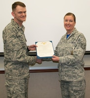 Palmer Receives Air Force Commendation Medal