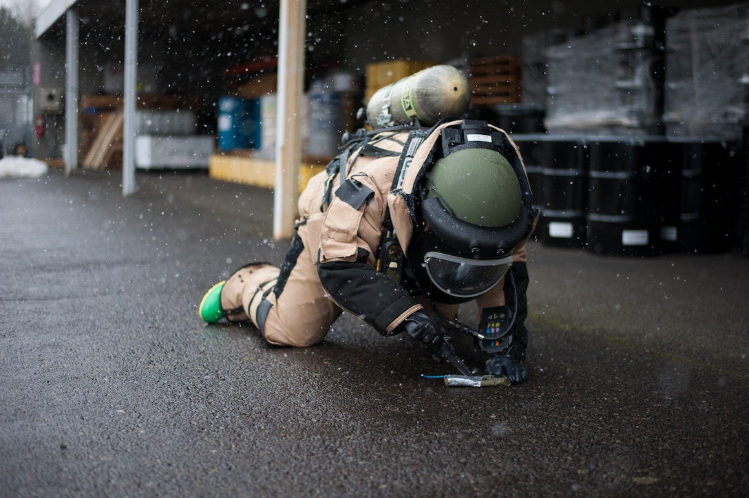 EOD conducts training on base