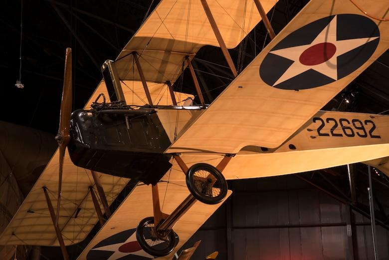 DAYTON, Ohio -- Standard J-1 in the Early Years Gallery at the National Museum of the United States Air Force. (U.S. Air Force photo by Ken LaRock)