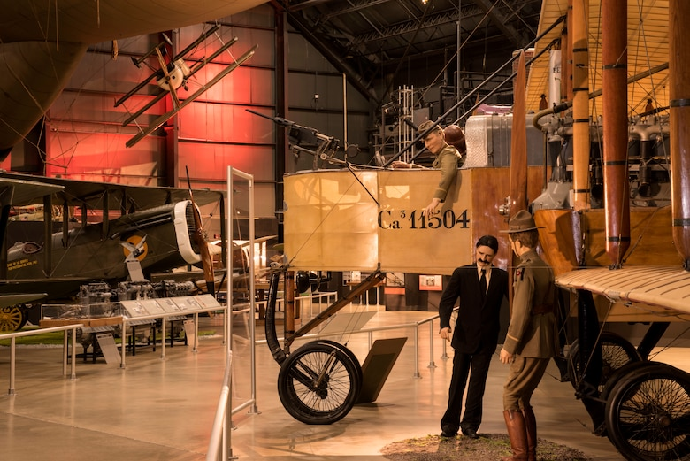 DAYTON, Ohio -- The Early Years Gallery at the National Museum of the United States Air Force. (U.S. Air Force photo by Ken LaRock)