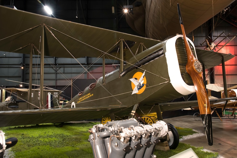 DAYTON, Ohio -- De Havilland DH-4 in the Early Years Gallery at the National Museum of the United States Air Force. (U.S. Air Force photo by Ken LaRock)