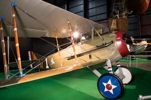 DAYTON, Ohio -- SPAD XIII in the Early Years Gallery at the National Museum of the United States Air Force. (U.S. Air Force photo by Ken LaRock)