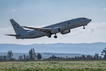 A P-8A Poseidon, attached to the