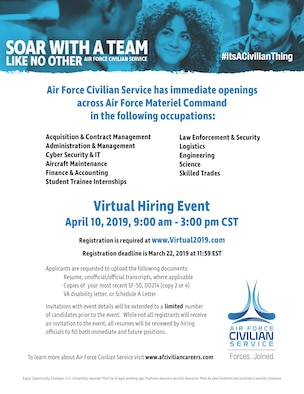 hiring fair flyer