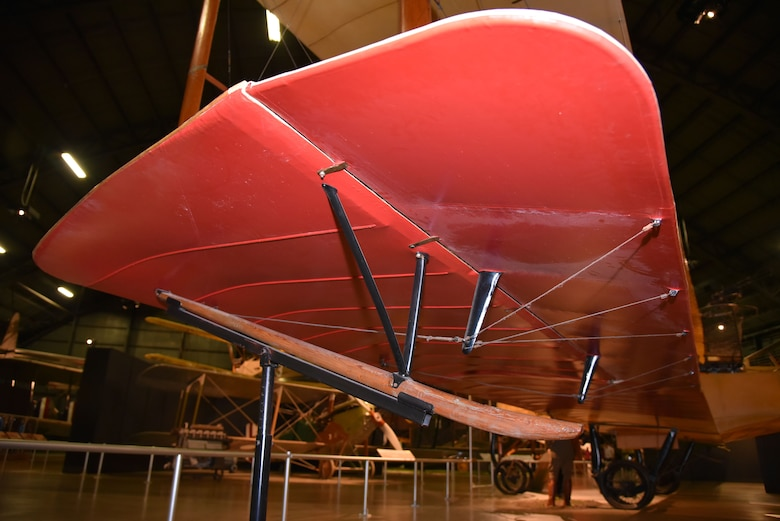 DAYTON, Ohio -- Caproni Ca. 36 in the Early Years Gallery at the National Museum of the United States Air Force. (U.S. Air Force photo by Ken LaRock)