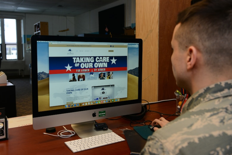 Airmen helping Airmen with AFAF Campaign