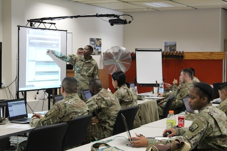 Knights' Brigade Trains Supply Soldiers