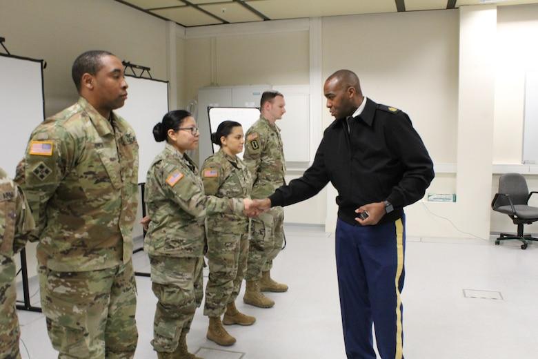 Knights' Brigade Trains Supply Soldiers