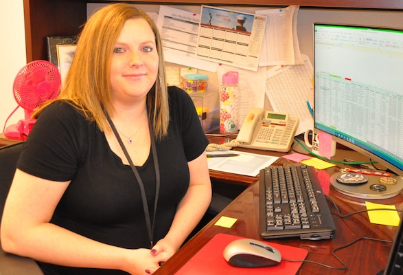 IMAGE: Jennifer Ferrell – NSWCDD Test and Evaluation Division financial analyst and administrative specialist