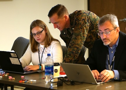 Marine Corps Logistics Command hosted business blueprint workshops over the last few weeks in order to begin the process of migrating to Navy Enterprise Resource Planning platform.