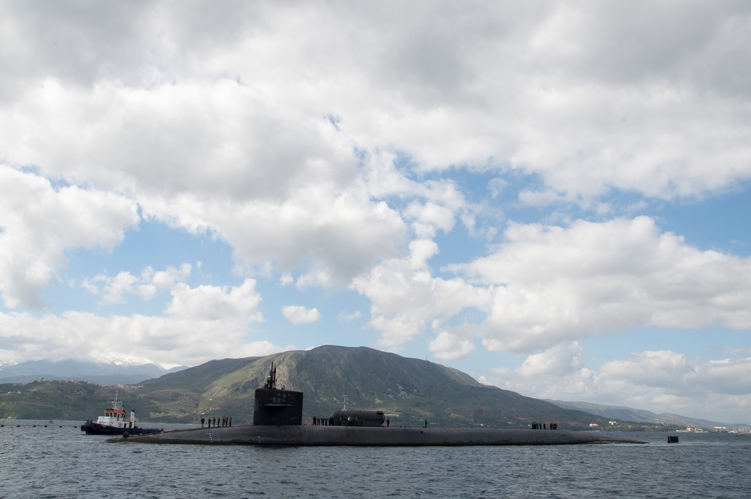 USS Florida Arrives at Souda Bay, Greece