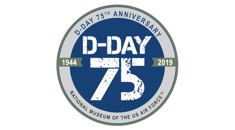 D-Day 75th Anniversary Logo