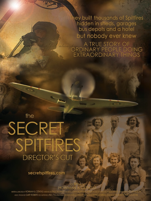 "The U.S. premiere of the film ""Secret Spitfire"" will occur as part of a Living History Presentation in the Air Force Museum Theatre on Monday, May 13, 2019."