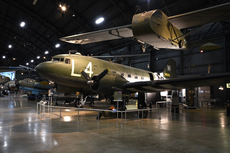 The Douglas C-47 and Waco CG-4A glider took part in D-Day. Both aircraft can be found in the WWII Gallery.