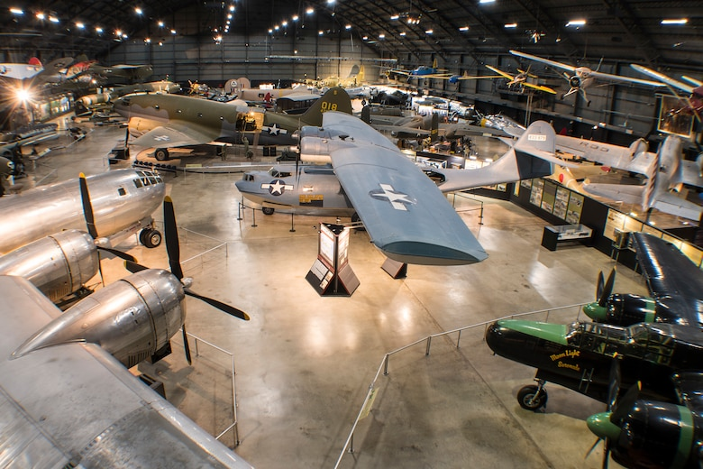 DAYTON, Ohio -- The World War II Gallery at the National Museum of the United States Air Force. (U.S. Air Force photo by Ken LaRock)