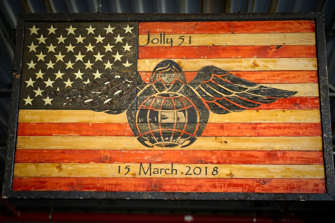 The 920th Rescue Wing lost three American heroes March 15, 2018, in an HH-60G Pave Hawk helicopter crash in Anbar Province, Iraq: Pararescuemen Staff Sgt. Carl Enis, 31, and Master Sgt. Bill Posch, 36, were both assigned to the 308th Rescue Squadron and Combat Rescue Officer Capt. Mark Weber, 29, was assigned to the 38th Rescue Squadron, Moody Air Force Base, Georgia, but was augmenting the 308th temporarily to bolster the wing's deployment to Iraq. (U.S. Air Force photo Tech. Sgt Jared TRIMARCHI)