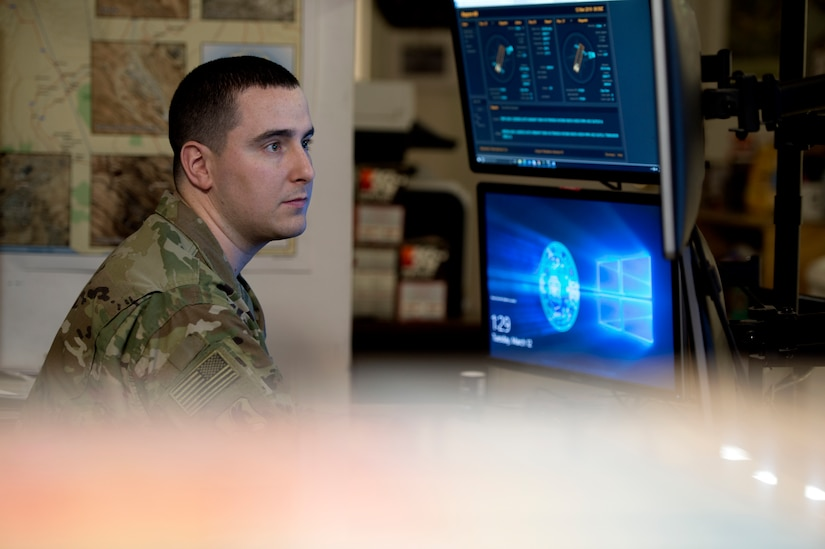 The 455th Expeditionary Operations Support Squadron is responsible for supporting air combat operations at Bagram Airfield, Afghanistan.