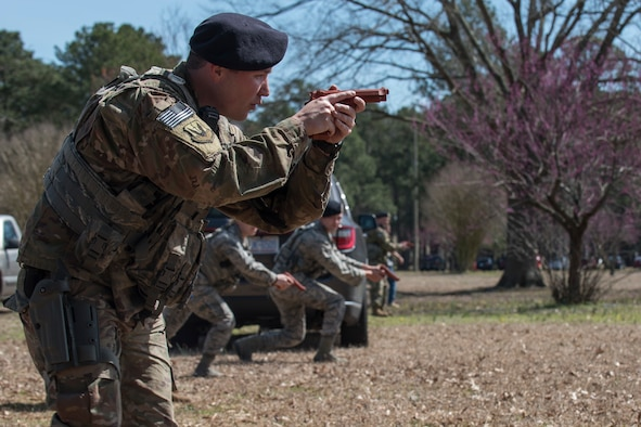 SF, MDG Airmen conduct active shooter exercise