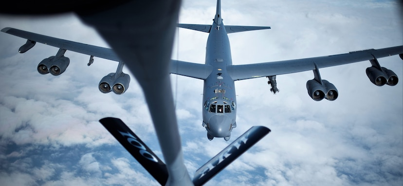 A Bomber Task Force deployment of B-52 Stratofortress aircraft, Airmen and support equipment from the 2nd Bomb Wing, Barksdale Air Force Base, Louisiana, have arrived in the U.S. European Command area of operations for a deployment to conduct theater integration and flying training.
