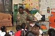 "80th Training Command (TASS) U.S. Army Reserve Soldiers and Civilians enjoyed reading to Hopkins Road Elementary School children, celebrating National Read Across America Day, in honor of Dr. Seuss' birthday. Hopkins Elementary Reading Specialist Mrs. Christy Smith said that inviting the Soldiers to the school means a lot, not only to the kids, but to the parents and teachers as well. ""Our kids look up to the Soldiers and see them as role models, and we absolutely love that,"" said Smith.