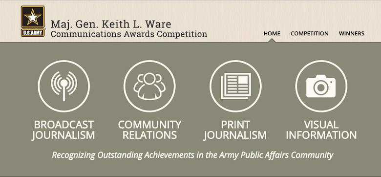 Keith L. Ware Communication Award Competition
