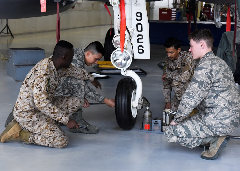F-15 crew chief training