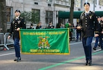 New York Army National Guard Soldiers from 1st Battalion, 69th Infantry Regiment once again led the country's largest St. Patrick's Day Parade in New York, March 17, 2016. This year's parade will mark the 168th time the