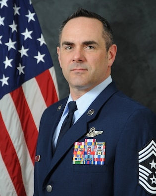Chief Master Sgt. Dustin Hall