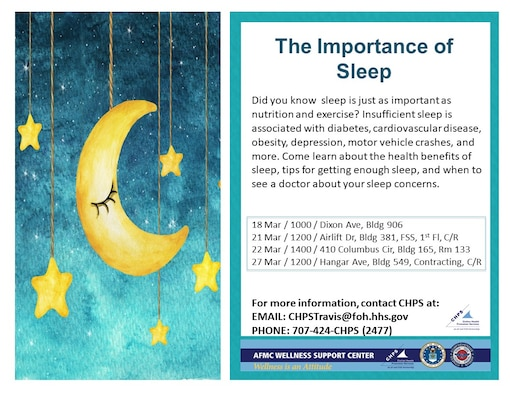 The importance of sleep graphic
