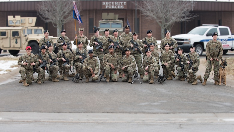 509th SFS female defenders represent for Women's History Month