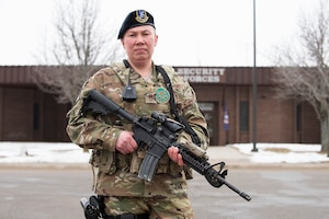Senior Master Sgt. Mary Trent has served as a SF Airman for more than 22 years.