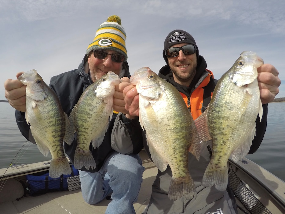 Locally, a 'slab' is considered a crappie fish measuring 15 inches or longer. Spring in the Heartland offers peak opportunity to catch crappie during the annual spawn. Come wet a line at a lake near you. Be sure to check your state and local fishing regulations before you grab your tackle this year.