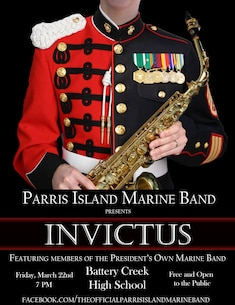 Invictus: Joint Concert with Parris Island Marine Band
