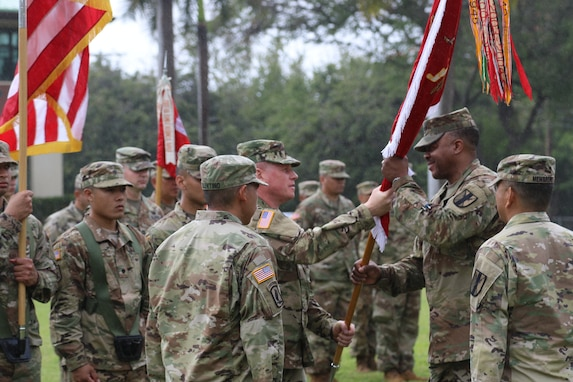 411th Engineer Battalion hosts change of command ceremony