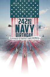 Navy Birthday 242nd poster
