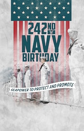 Navy Birthday 242nd poster #2