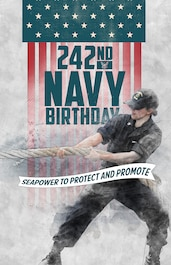 Navy Birthday 242nd poster #3