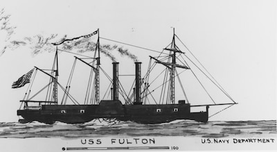 On October 29, 1814, the first steam-powered Navy warship, Fulton, a frigate, launches at New York City and is later commissioned in June 1816. Largely unemployed, she later serves as a receiving ship until June 4, 1829 when her magazine explodes, killing 30 and destroying the ship.