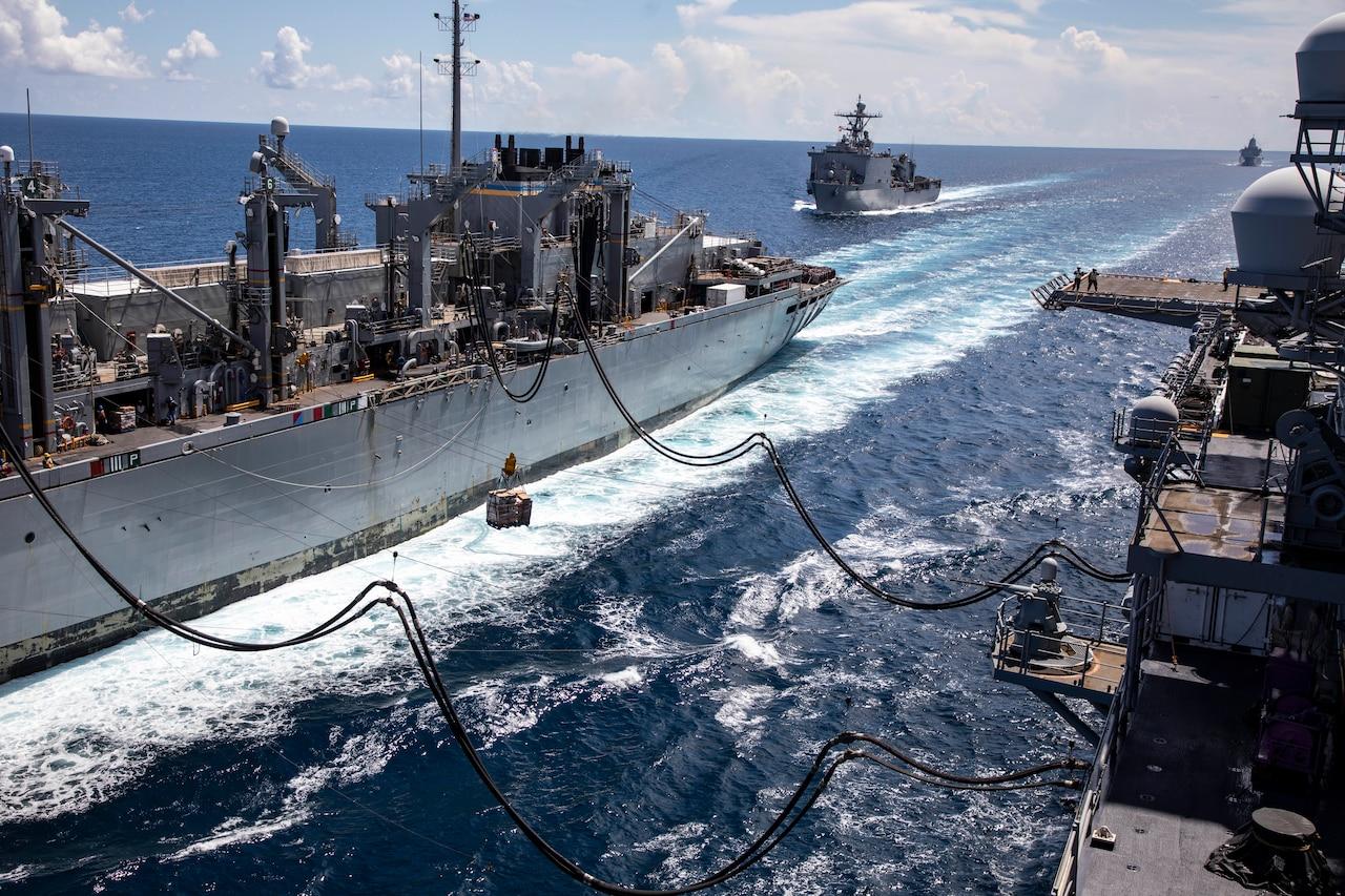 Ships refuel