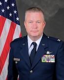 Official portrait of Col. Gene C. Buckner