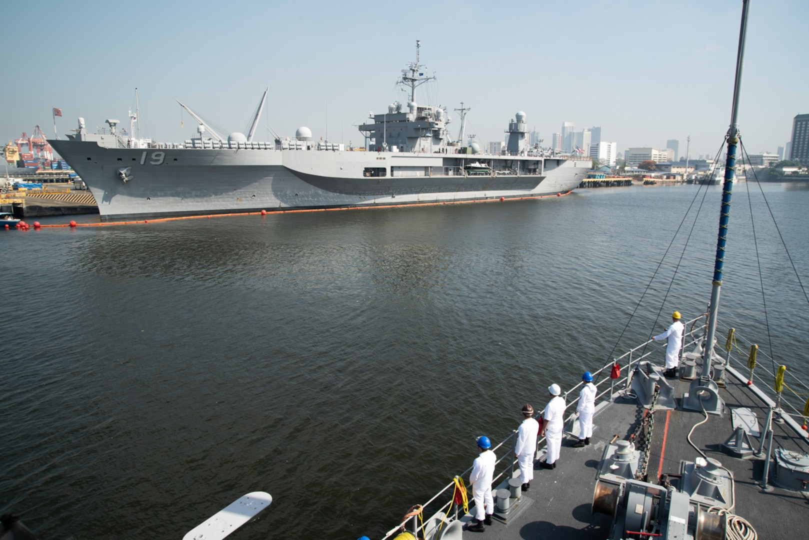 USS Chief Visits Manila during Regional Operations