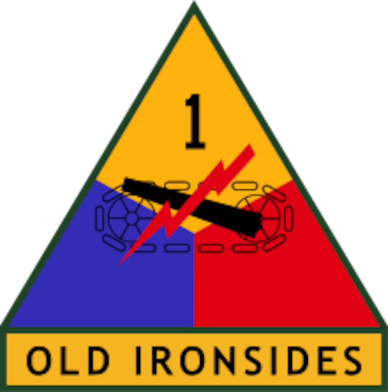 1st Armored Division Logo
