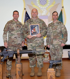 Sgt. Christopher Liming All Army Pistol Champion